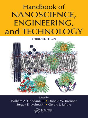 cover image of Handbook of Nanoscience, Engineering, and Technology