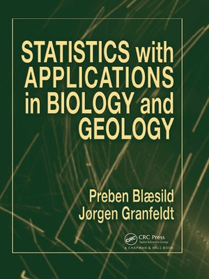 cover image of Statistics with Applications in Biology and Geology