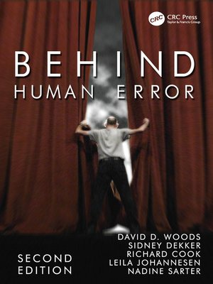 cover image of Behind Human Error