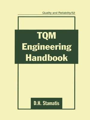 cover image of TQM Engineering Handbook