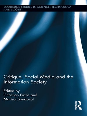 cover image of Critique, Social Media and the Information Society