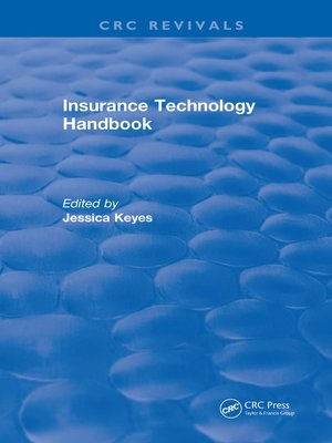 cover image of Insurance Technology Handbook