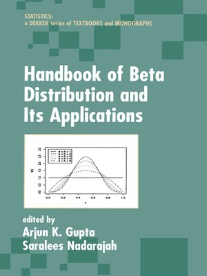 cover image of Handbook of Beta Distribution and Its Applications
