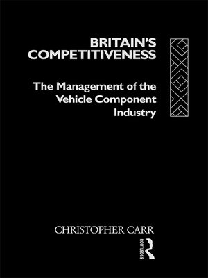 cover image of Britain's Competitiveness