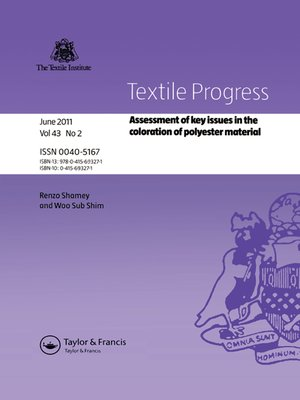 cover image of Assessment of Key Issues in the Coloration of Polyester Material