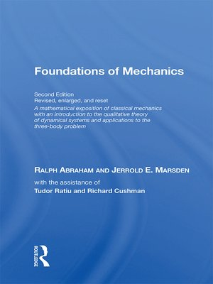 cover image of Foundations of Mechanics (on Demand Printing of 30102)
