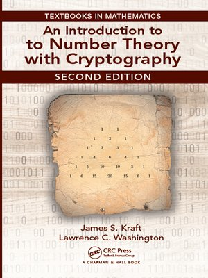 cover image of An Introduction to Number Theory with Cryptography