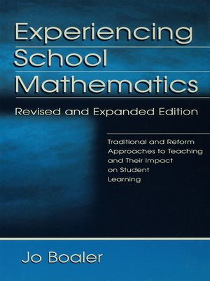 cover image of Experiencing School Mathematics