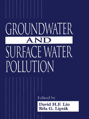 cover image of Groundwater and Surface Water Pollution