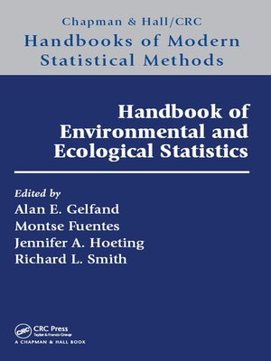 cover image of Handbook of Environmental and Ecological Statistics