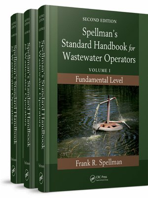 cover image of Spellman's Standard Handbook for Wastewater Operators (3 Volume Set)
