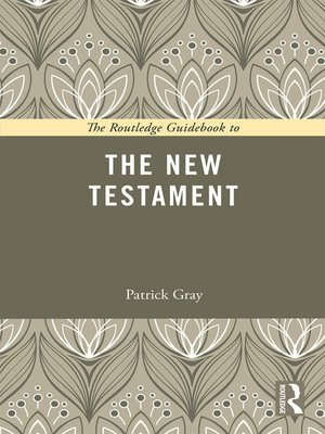 cover image of The Routledge Guidebook to the New Testament