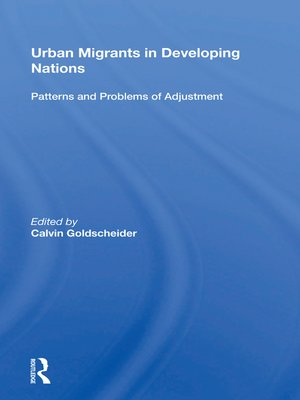cover image of Urban Migrants In Developing Nations