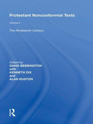 cover image of Protestant Nonconformist Texts