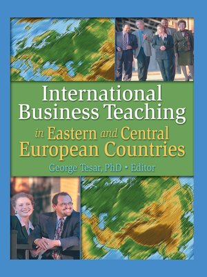 cover image of International Business Teaching in Eastern and Central European Countries