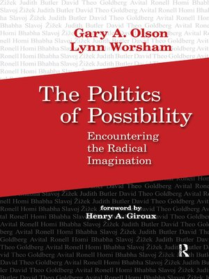 cover image of Politics of Possibility