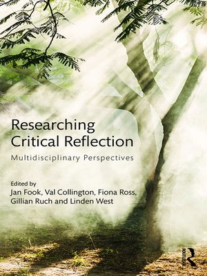 cover image of Researching Critical Reflection