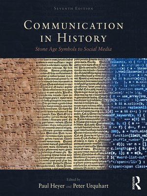 cover image of Communication in History
