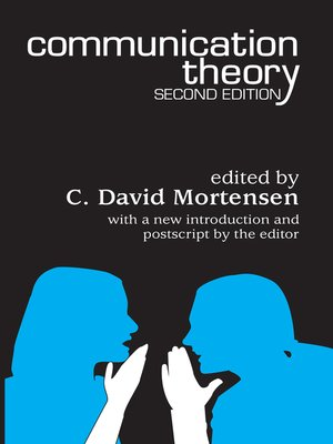 cover image of Communication Theory