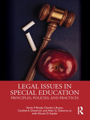 cover image of Legal Issues in Special Education