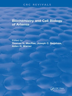 cover image of Biochemistry and Cell Biology of Artemia