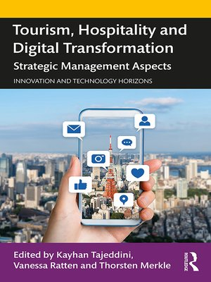 cover image of Tourism, Hospitality and Digital Transformation