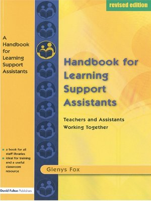 cover image of A Handbook for Learning Support Assistants