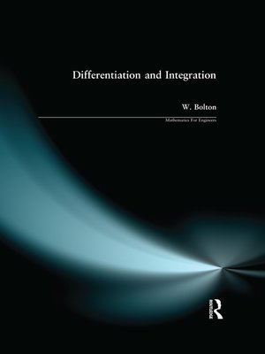 cover image of Differentiation and Integration
