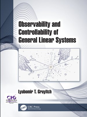 cover image of Observability and Controllability of General Linear Systems