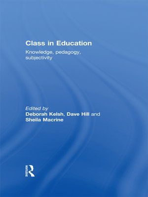 cover image of Class in Education