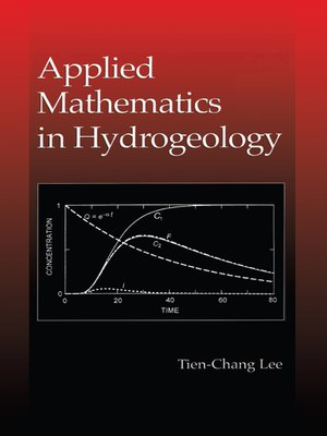cover image of Applied Mathematics in Hydrogeology