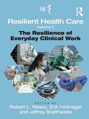 cover image of Resilient Health Care, Volume 2
