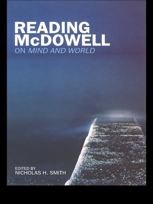 cover image of Reading McDowell