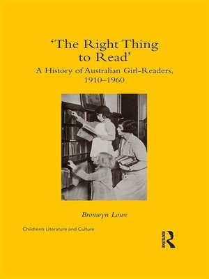 cover image of 'The Right Thing to Read'