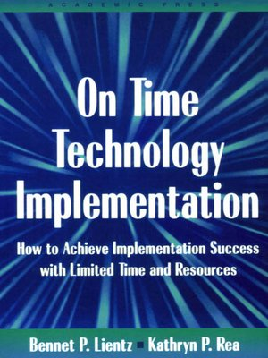 cover image of On Time Technology Implementation