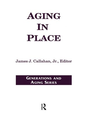 cover image of Aging in Place