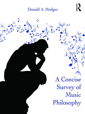 cover image of A Concise Survey of Music Philosophy