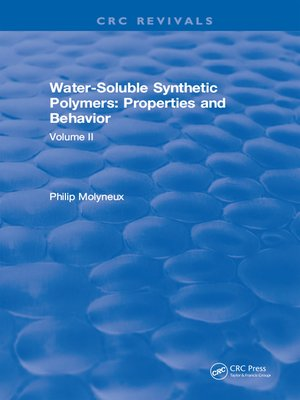 cover image of Water-Soluble Synthetic Polymers