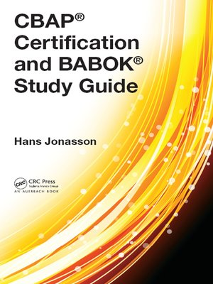cover image of CBAP® Certification and BABOK® Study Guide