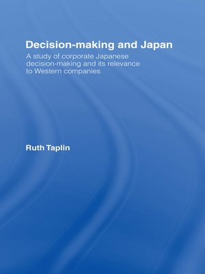 cover image of Decision-Making & Japan
