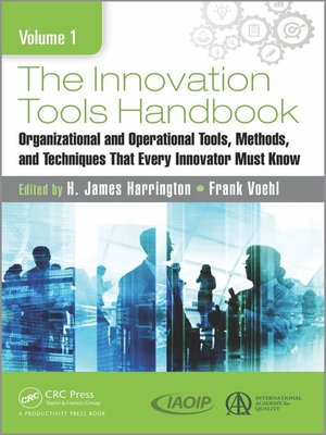 cover image of The Innovation Tools Handbook, Volume 1