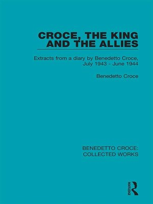 cover image of Croce, the King and the Allies