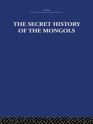 cover image of The Secret History of the Mongols