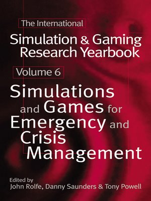 cover image of International Simulation and Gaming Research Yearbook