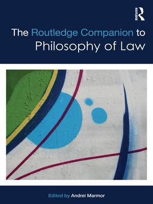 cover image of The Routledge Companion to Philosophy of Law