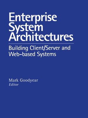 cover image of Enterprise System Architectures