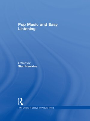cover image of Pop Music and Easy Listening