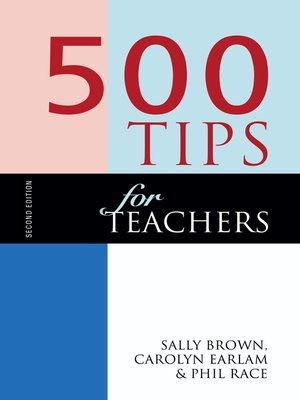 cover image of 500 Tips for Teachers