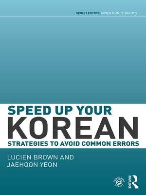 cover image of Speed up your Korean