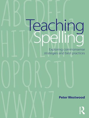 cover image of Teaching Spelling